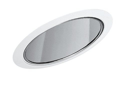 Juno Lighting 602Whz-Abz 6-Inch Super Slope Downlight Reflector Cone, Wheat Haze Baffle With Classic Aged Bronze Trim