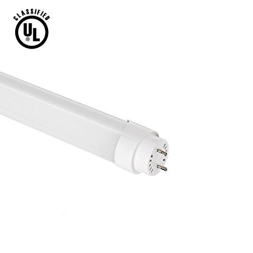 Lighting EVER Brightest 18 Watt 4 foot T8 LED