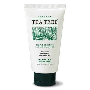Tea Tree Natural Oil Control Facial Foam 70G (2.4 Fl Oz)