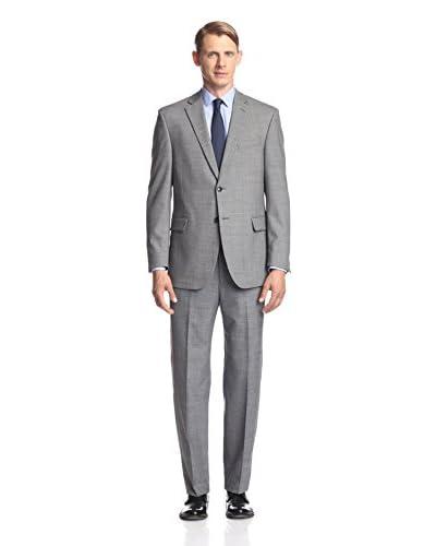 Kroon Men's Jim Solid Sharkskin Suit