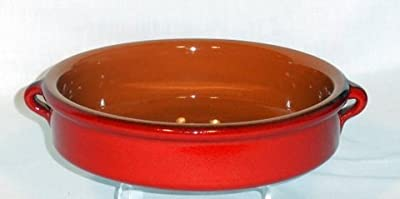 Genuine Terracotta 20cm Round Dish - Savannah Red Set Of 2 from Be-Active