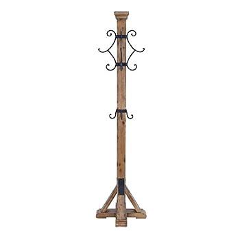 Deco 79 Wood Metal Coat Rack, 75 by 19-Inch