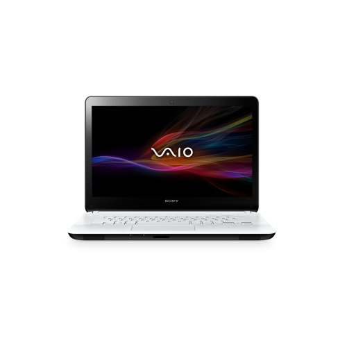 Sony Vaio F1421X2E 14 inch Touchscreen Notebook (White) - (Intel Core i5 3337U 1.8GHz Processor, 4GB RAM, 500GB HDD, DVDSM, LAN, WLAN, BT, Webcam, Integrated Graphics, Windows 8)