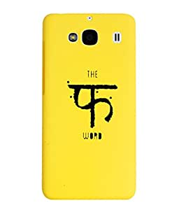 KolorEdge Back Cover For Xiaomi Redmi 2 - Yellow (1999-Ke15145Redmi2Yellow3D)