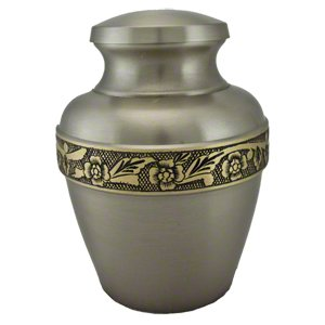 Elegant, High Quality Avalon Pewter Pet Memorial Urn - Large