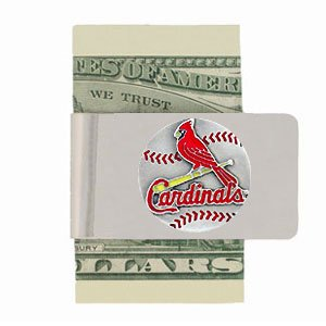 St. Louis Cardinals Steel Money Clip St. Louis Cardinals Steel Money Clip at Amazon.com