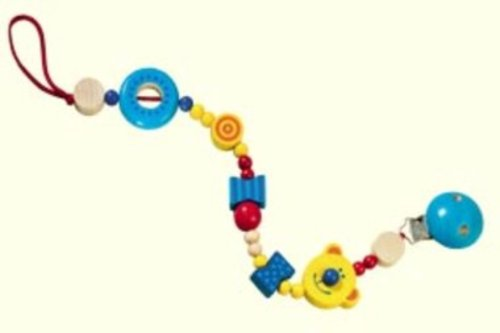 Haba Teddy Pacifier Chain