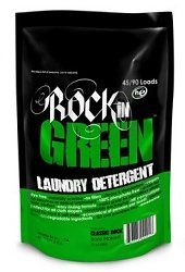Rockin' Green Classic Rock Formula, UNSCENTED Laundry Detergent 45oz