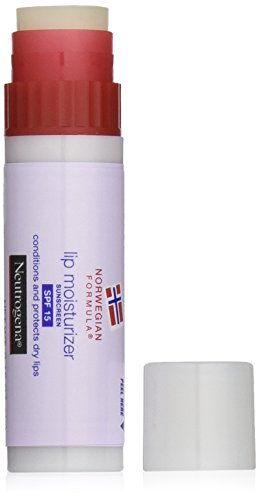 Neutrogena Norwegian Formula Lip Moisturizer, SPF 15, 0.15 Ounce (Pack of 2)