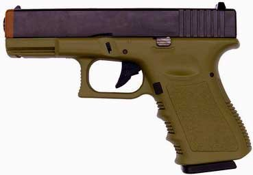 KJW G23 METAL Gas Airsoft Gun Pistol OD