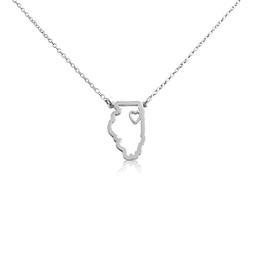 925-sterling-silver-small-illinois-home-is-where-the-heart-is-home-state-necklace-16-inches