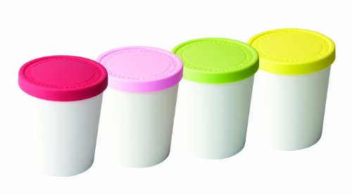Tovolo Mini Sweet Treats Tubs - Set of 4 (Ice Cream Freezer Containers compare prices)