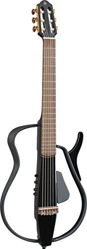 YAMAHA サイレントギター ブラックメタリック SLG110N BM