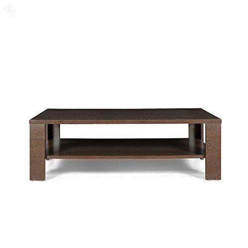 Crystal Furnitech CRYHJHF80 Center Table (Dark Finish)