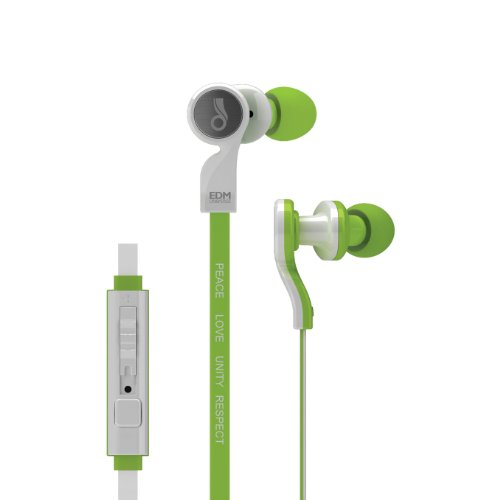 Meelectronics Edm Universe D1P In-Ear Headphones With Headset Functionality (Unity/Green)