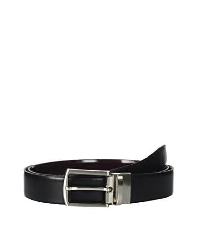 Ortiz & Reed Cintura Pelle Black Reversible Leather Belt [Nero]
