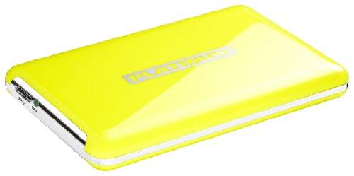 - MyDrive - Disque dur externe portable 2,5' - 320 Go - USB 3.0 - Jaune [Déballer sans s'énerve...