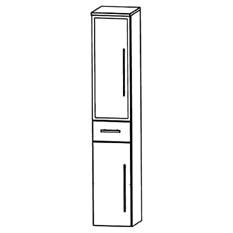 Puris Speed (HNA053BL / R Tall Cupboard Bathroom Cupboard 30 CM