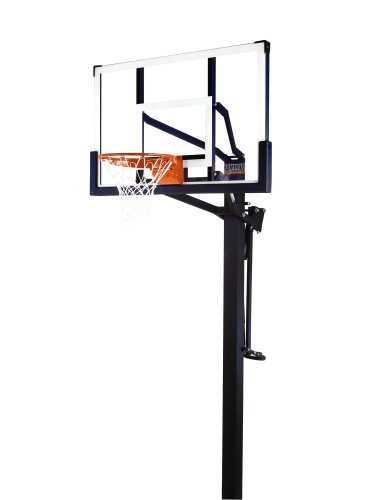 Mammoth 98856 In-Ground Basketball System with 54-Inch Backboard