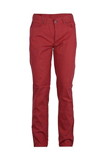 Pantalone 5 tasche rosso in cotone, 52