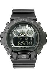 G-Shock Chrono 20 Bar Mirror Dial Men's watch #DW6900NB-1