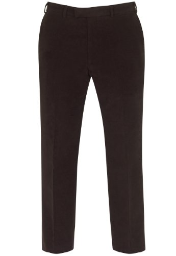 Brook Taverner Northumbria Suit Trousers in Chocolate 40R