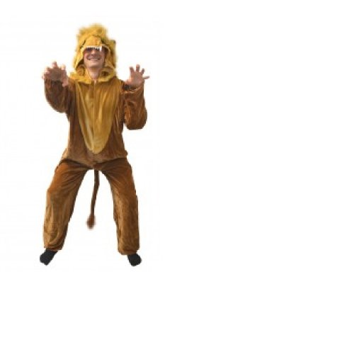 King of the Beasts Costume - Adults-one Size