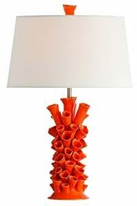 Arteriors Home 17387-522 Cassidy Orange Porcelain Lamp