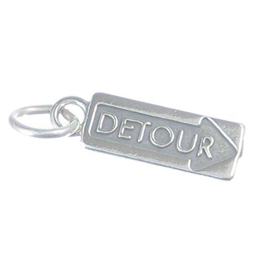 detour-argento-sterling-ciondolo-925x-1deviazioni-lavori-stradali-congestione-del-traffico-cf5017