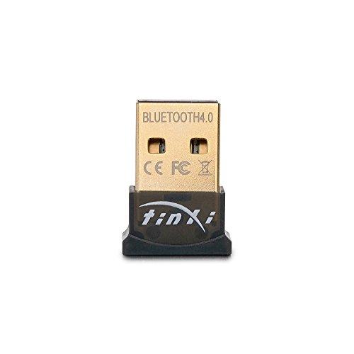 tinxi® Adaptateur USB Bluetooth 4.0 Mini clé avec une vitesse élevée Plug and Play
