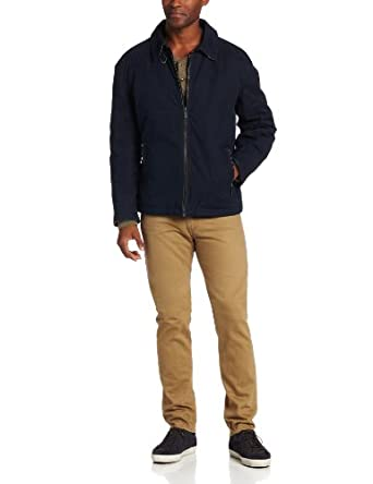 London Fog Men's Heritage Branch Hipster Jacket, Navy, Small