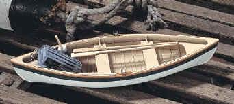 The Maine Peapod Ship Wooden Model Kit