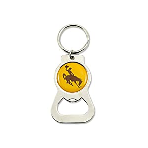 Buy NCAA Wyoming Cowboys Bottle Opener Key Ring by aminco