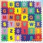 Cheap REEMEX EVA Educational Puzzle Foam Mat Interlocking Alphabet & Number – 36 Small Blocks (5″ by 5″ Each block) (B001DWG4LS)