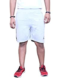 CATFISH Men Grey Bermuda Shorts