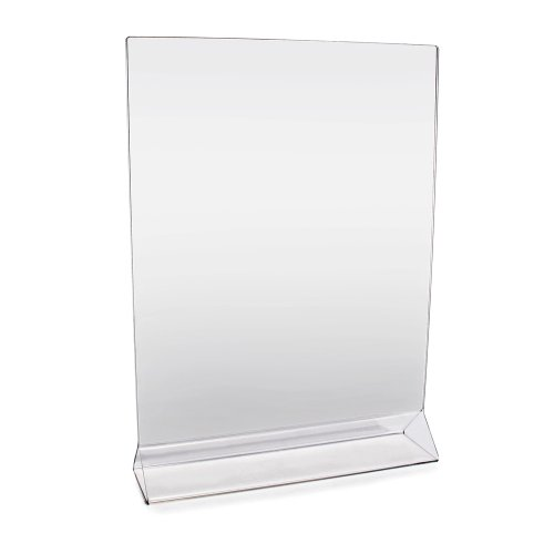 New Star Foodservice 23039 Acrylic Table Menu Card Holder, 8-Inch by 11-Inch, Clear, Set of 12 (Service Menu compare prices)