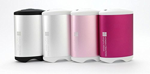 Energyflux 4400Mah Rechargeable Double-Sided Hand Warmer / Usb External Battery Pack -Cherry Pink