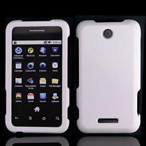 Amazon.com: For Cricket ZTE X500 Score Accessory - White Hard Case
