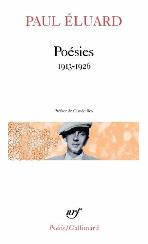 Poesies Eluard 1913 26 (Pobesie) (French Edition)