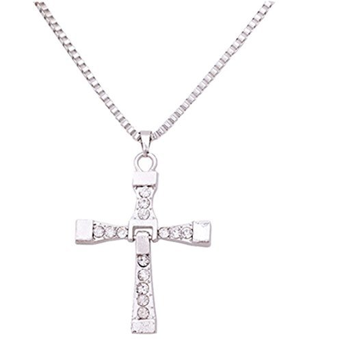 Dominic Toretto De Unisex Cross Necklace Long Necklace Valentine Gift