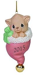 Precious Moments Pur-Fect Love 2015 Cat Ornament