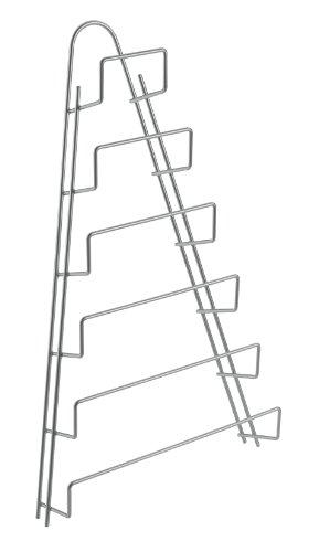 Metaltex 364006 - Porta coperchi per pentola a 6 spazi, politermico