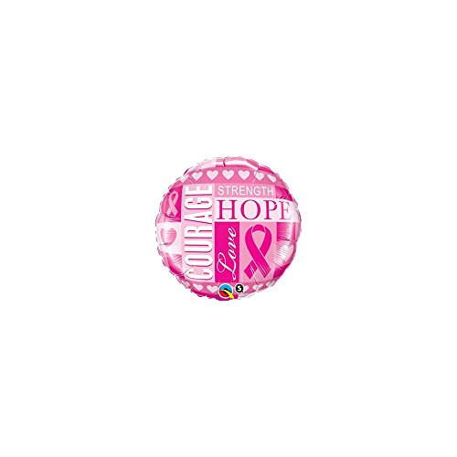 "PIONEER BALLOON COMPANY 35119 Breast Cancer Inspiration Balloon Pack, 18"" - 1"