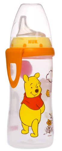 NUK Disney Winnie the Pooh Silicone Spout Active Cup, 10-Ounce - 1