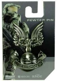 Picture of Changes Halo 3: UNSCDF Logo Pewter Pin Figure (B0017H18F6) (Halo Action Figures)
