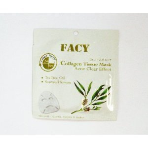 Facy Collagen Tissue Mask Acne Clear Effect 1 Pcs. 21 Ml. (Pack 5)