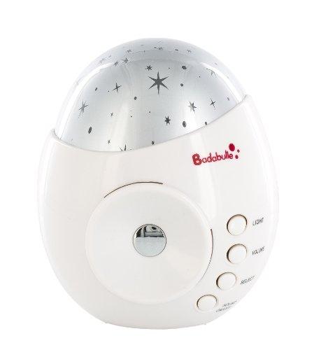 Badabulle B015003 My Music & Light Luce Notturna, Bianco