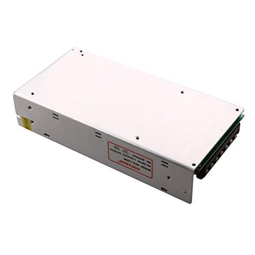 Pixnor 120W DC 12V 10 a Puissance de Commutation D'alimentation Transformateur Régulée avec Court-Circuit et Protection Contre Les Surintensités