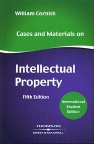Cases and Materials on Intellectual Property, ISE
