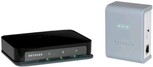 NETGEAR Powerline AV Adapter Kit with Ethernet Switch XAVB1004